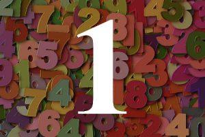 Numerología del número uno
