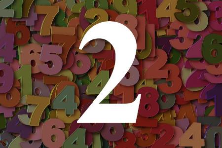 Numerología del número dos