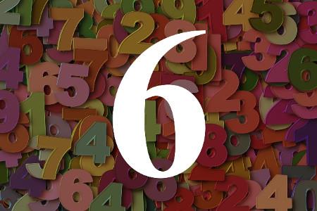 Numerología del número seis