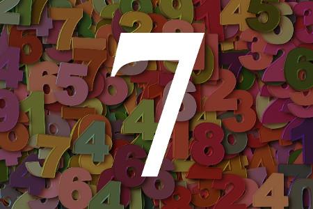 Numerología del número siete