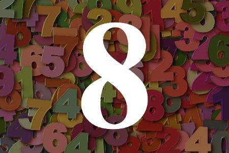 Numerología del número ocho