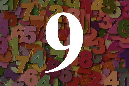 Numerología del número nueve