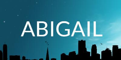 Significado del nombre Abigail
