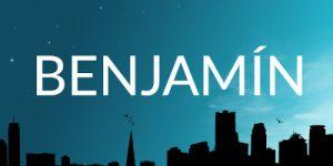 Significado del nombre Benjamín